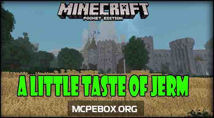 Текстуры A Little Taste of Jerm Bedrock 1.9/1.8
