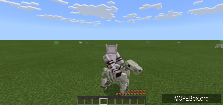 Мод Better Skeleton Horses 1.10, 1.9