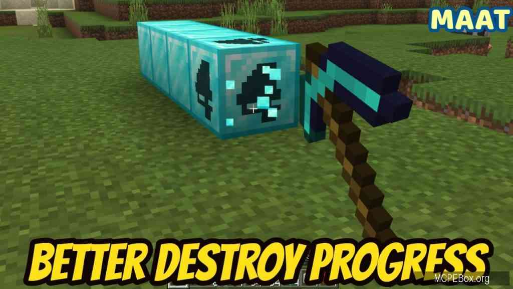 Текстуры Better Destroy Progress 1.14